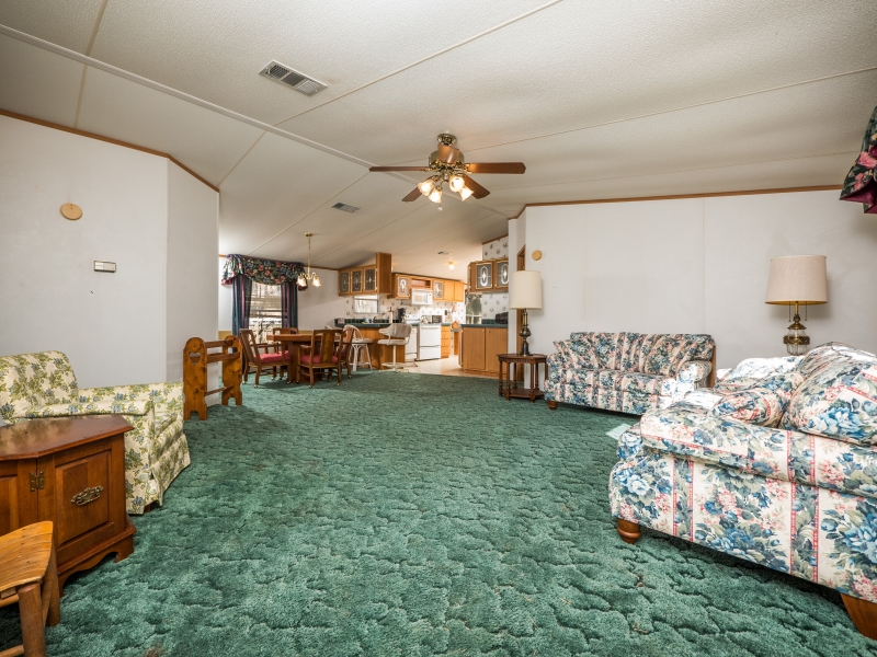 9515 NE 107th Court Salt Springs,FL 32134-Living room