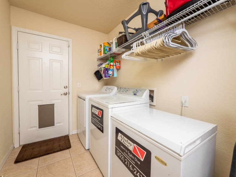 11464 SW 131 Terr Dunnellon- Interior Laundry Room