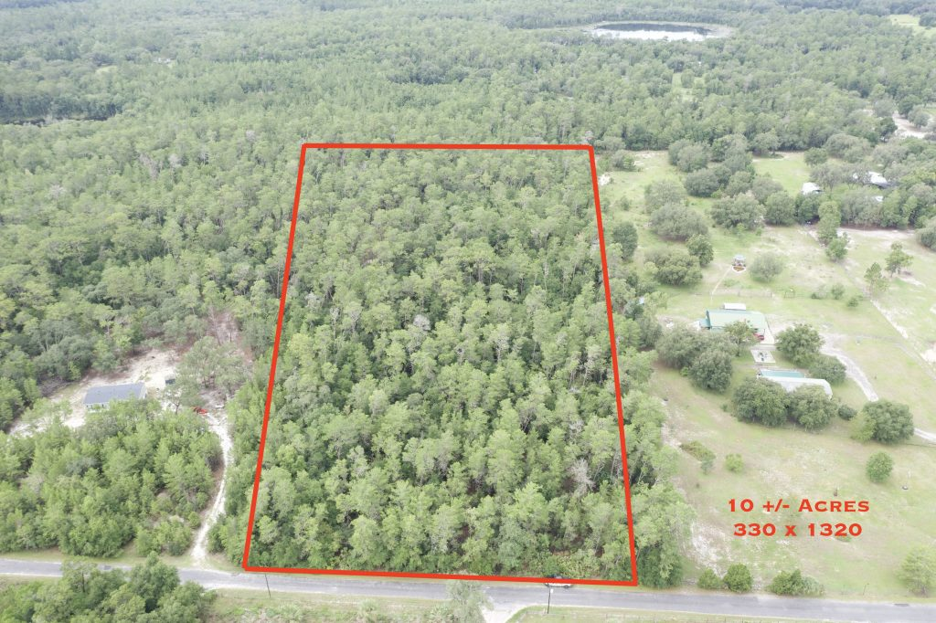 Orange Springs, Florida 10 Acres